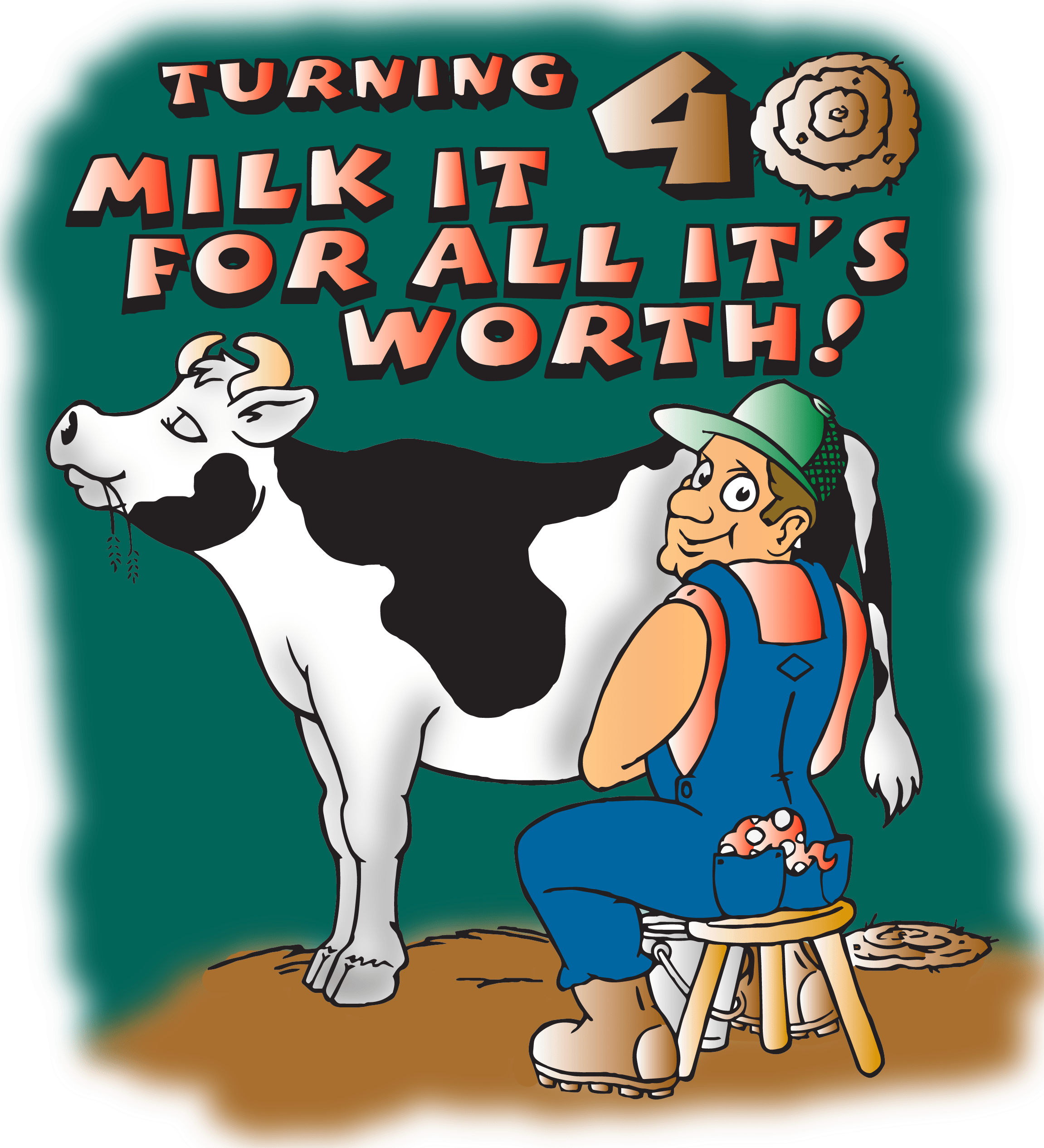 2014 Wisconsin State Cow Chip Throw & Festival Logo