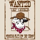 """2013 - Wanted """"Chip"""" Chucker - Adult"""